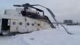 Пассажирский вертолет Ми-8 опрокинулся на бок в Краснояр ...