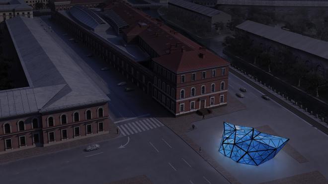 На площади Труда появилась инсталляция к 200-летию открытия Антарктиды