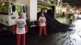 """Активисты Greenpeace высыпали 5 тонн """"грязного"""" угля ..."""