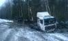 Появились фото страшного ДТП с легковушкой и грузовиком на южном полукольце