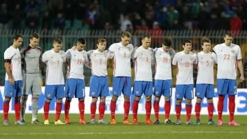 Матч сборной России начнется с минуты молчания