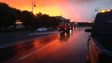 Дорожные службы очистили город от загрязнений к 5 ...