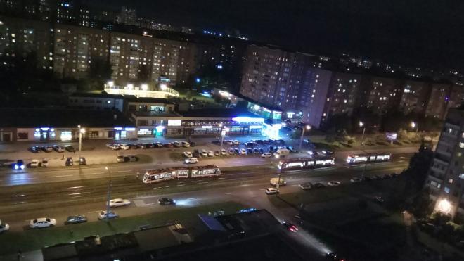 В Петербурге сошел с рельс еще один трамвай