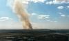 Столб дыма в Пушкине возник из-за пожара в производственном здании
