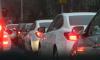 Петербургские автомобилисты застряли в восьмибалльных пробках