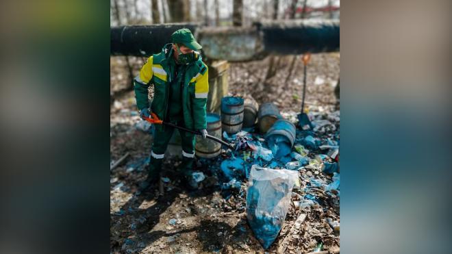 В реке Волковке собрали 2 тонны нефтепродуктов