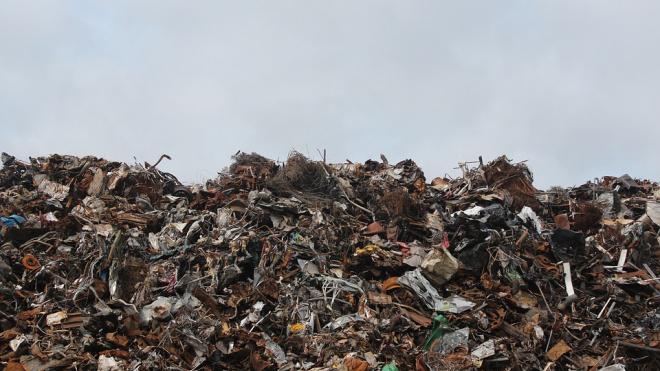 В Разметелево приезжало около 30 грузовиков, чтобы незаконно сбросить строительные отходы