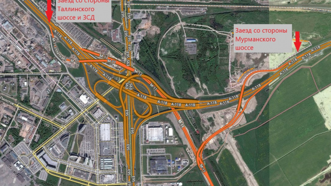 Автомобилисты жалуются, что случайно выезжают на трассу М-11