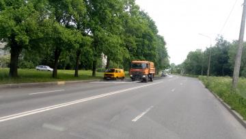 За неделю с улиц Петербурга вывезли 2,7 тысяч тонн ...