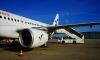 Самолет Москва – Петербург 40 минут отдирали от примерзшего трапа