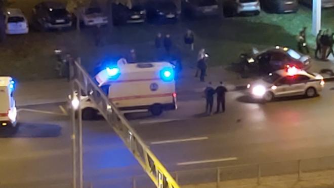 В вечернем ДТП на Дунайском проспекте пострадали три человека