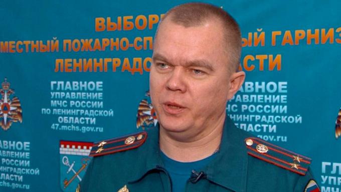 Дмитрий Хабибуллин, начальник Выборгского отдела надзорной и профилактической работы ГУ МЧС