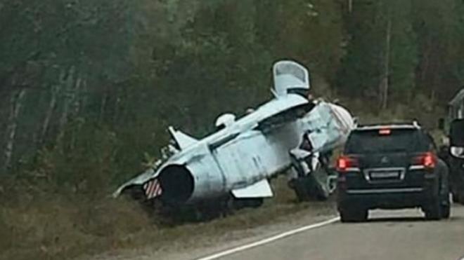 В Приморье в ДТП попал самолет Су-24