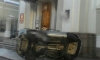 На Кадетской линии машина второй раз за неделю влетела в церковь