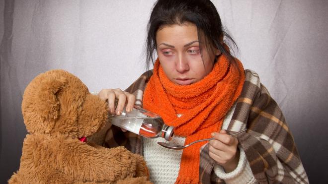 В Петербурге около 200 человек попали в больницу с гриппом и ОРВИ