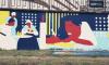 """В Петербурге нарисовали 70-метровое граффити по мотивам """"Евгения Онегина"""""""