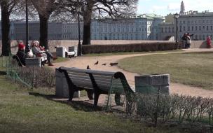 В Петербурге 1300 полицейских заблокируют входы в скверы и парки