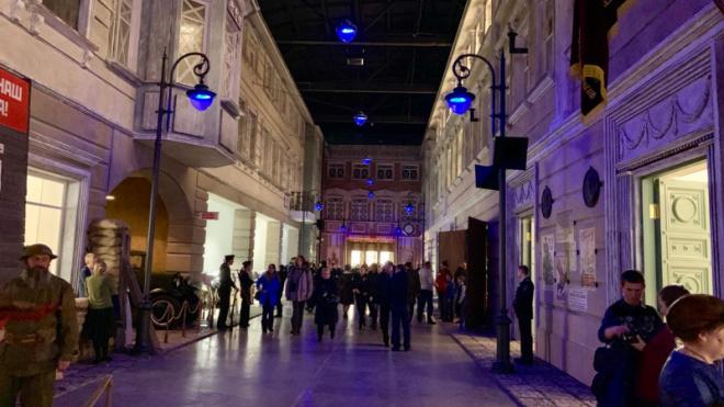 В Петербурге открылась улица блокадного Ленинграда