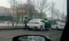 На Пулковском шоссе полицейские устроили зрелищную погоню за водителем
