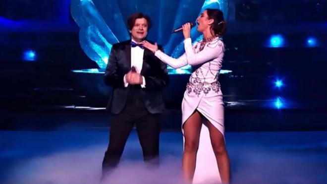 Бузова спела дуэтом с Трубачом в шоу НТВ