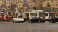 На Светлановской площади образовалась большая пробка ...