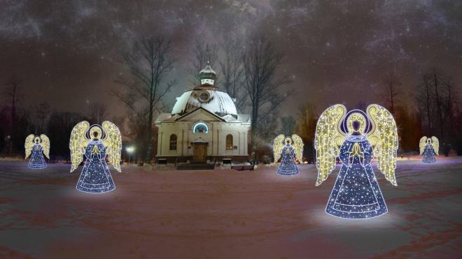В парке Победы появятся большие фигуры ангелов