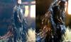 Для съемок в клипе на новую песню Билли Айлиш стала черным ангелом