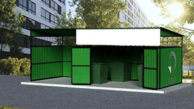 В Сосновом Бору установят 40 новых контейнерых площадок