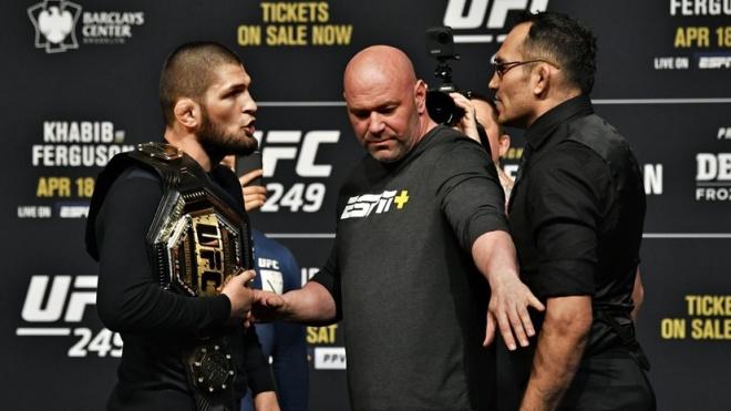 Президент UFC подтвердил, что бой между Нурмагомедовым и Фергюсоном не состоится