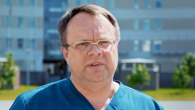 Главврач Боткинской больницы получил благодарность губернатора Петербурга