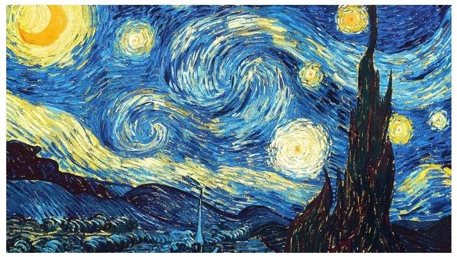 Ван Гог - живые полотна