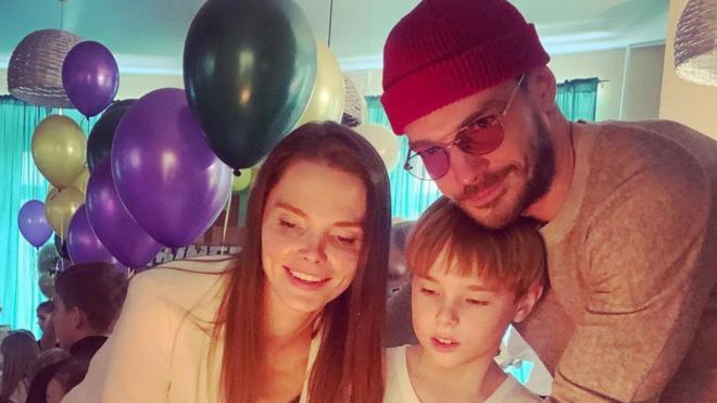 Боярская трогательно поздравила сына с днем рождения