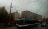 На Народной улице трамвай порвал провода
