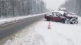 """В ДТП на трассе """"Кола"""" пострадали трое"""