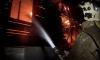 В Выборге трех человек вывели из горящего здания