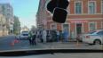 На Петроградке внедорожник протаранил магазин