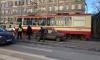 В Невском районе иномарка сбила молодую петербурженку