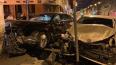 Водитель Kia впечатал Mercedes в здание кафе на Кадетской ...