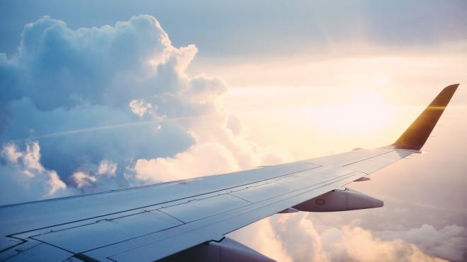 """Пассажир самолета, который совершил экстренную посадку в """"Пулково"""", дал комментарий"""