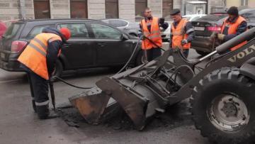 В будущем году на ремонт и строительство дорог Петербурга ...
