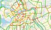 Безудержное веселье пятницы: в Петербурге зафиксированы 8-бальные пробки