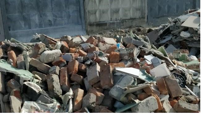 Следователи Ленобласти посетили незаконную свалку в Янино