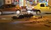 """На Литовской """"Ауди"""" протаранила мотоцикл с двумя байкерами"""