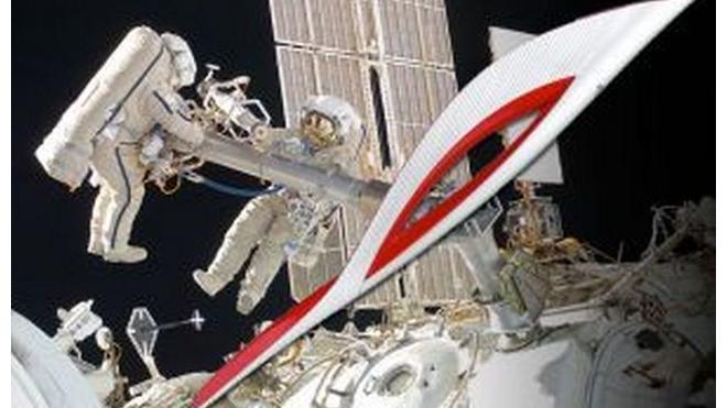 Олимпийский факел отправят в открытый космос