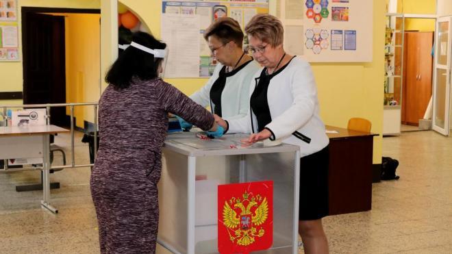 Избиратели Выборгского района проголосовали на выборах губернатора