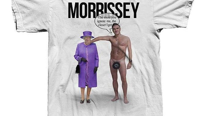 Моррисси оскорбил британскую королеву