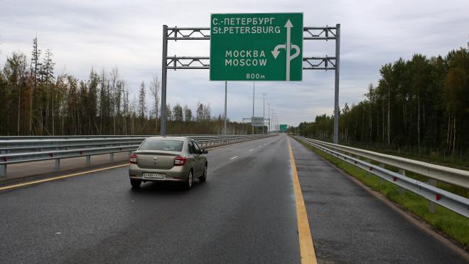 Открылся новый участок трассы М11 в Петербург