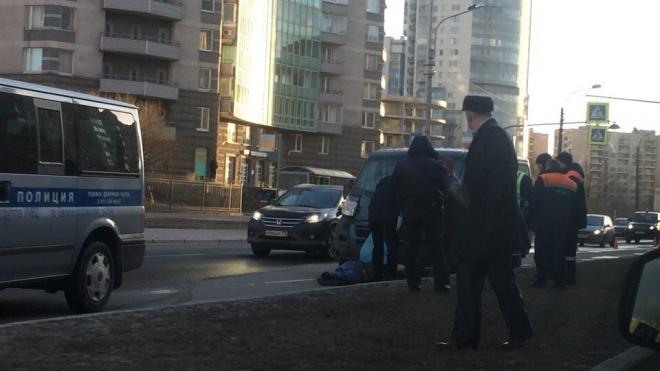 Пешеход погиб под колесами Citroеn на улице Одоевского