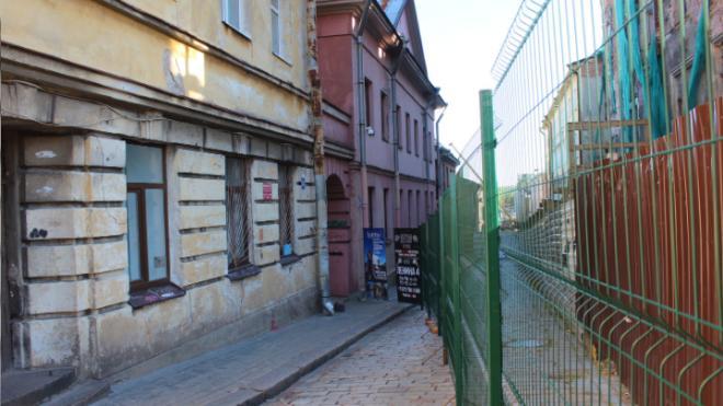 Улицу Крепостную открыли для прохода