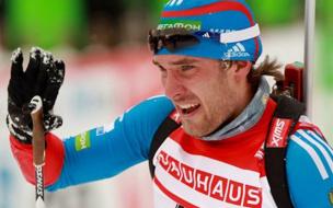 Россиянин Евгений Гараничев победил в спринте на этапе Кубка мира в Холменколлене